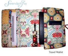 Version 1   In preparation and anticipation for an upcoming trip, I decided to make a travel wallet to hold my boarding pass, hotel reserv...