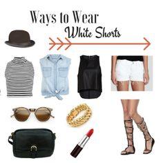Ways To Wear White Shorts