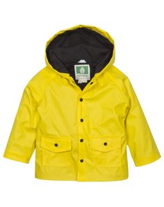 Children's Rain Jacket, Yellow/Black 5. WATERPROOF & PVC FREE - Our Oakiwear Kids Rain Jackets are built too last. The jacket has a waterproof outer shell that will hold up in the rainiest of weather. The inside of the jacket has a thin comfy cotton/polyester lining. MATCH WITH OAKIWEAR RUBBER BOOTS - Now you can match your jacket up with a pair of our Original Oakiwear Kids Rubber Rain Boots! Each of our nine styles of rain jackets match with a style of rubber rain boots, and umbrellas....