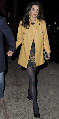Amal Clooney's Most Stylish Looks Ever - March 7, 2015 from InStyle.com