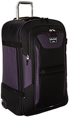 Ambassador® Vintage Series Retro Carry On 20'' Suitcase Spinner ...