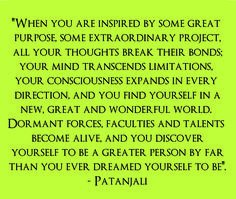 Patanjali Yoga Quote--- I am SO happy to have found yoga again! ♥ Patanjali Yoga Quote— I am SO happy to have found yoga again! Yoga Quotes, Me Quotes, Patanjali Yoga, Best Inspirational Quotes, My Yoga, Yoga Meditation, Yoga Inspiration, Wise Words, Quotes To Live By