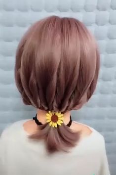 These are the Best Hairstyle Compilation for Short Hair Short Hair Dos, Short Hair Hacks, Short Hair Styles Easy, Cute Hairstyles For Short Hair, Girl Short Hair, Elegant Hairstyles, Medium Hair Styles, Office Hairstyles, Hair Medium