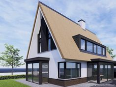 Building Design, Sims, Sweet Home, Villa, Barn, Houses, Mansions, House Styles, Home Decor