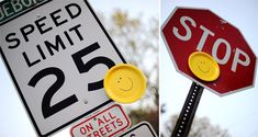 Go on a happy hunt (hide smiley faces in the neighborhood & see who can find the most).