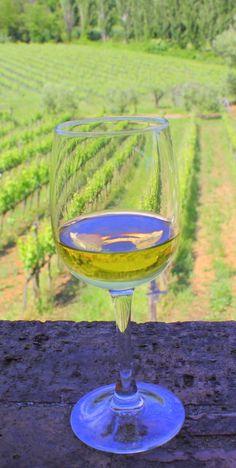 Wine at Casale Verde Luna, Piglio, Italy
