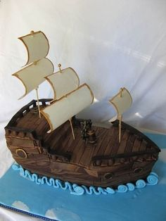 "from CakeWrecks.com ~ May 27, 2012 ~ ""Sunday Sweets: Jolly Rogers"""