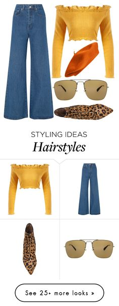 """""""Untitled #2445"""" by kucherukksenia on Polyvore featuring Solace, Tabitha Simmons and Gucci"""