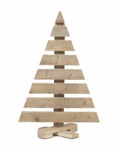 houten kerstboom - Google zoeken