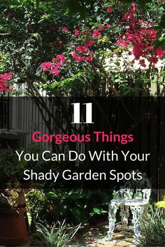 11 Stunning Flowers That Thrive in Shade 11 absolutely gorgeous things you can do with shady garden spots. Garden Landscaping, Garden Planning, Outdoor Gardens, Shade Plants, Beautiful Gardens, Shade Garden, Lawn And Garden, Plants, Shade Flowers