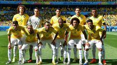 Selección de Brasil mundial de Brasil 2014.