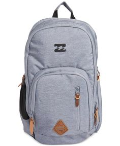 Take command of your valuables with this multi-zip-closure Command backpack  from Billabong 70f870f324f