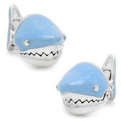 Moving Shark Jaws Cufflinks