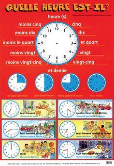El Conde. fr: Quelle heure est-il?