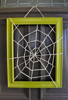 10-minute Giant Yarn Spider Web | MADE