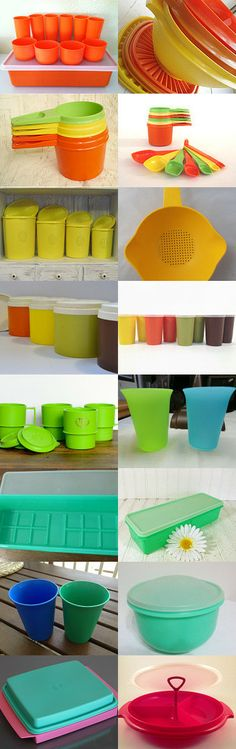 Tupp Love - a Tribute to Tupperware by Renee on Etsy--Pinned with TreasuryPin.com