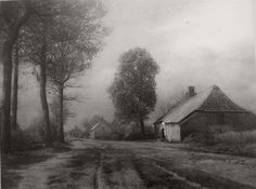 Leonard Misonne (1870 - 1943) was a Belgian photographer.  Misonne was a master pictorialist photographer, whose atmospheric landscapes and street scenes