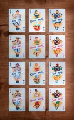 Traina Design · Borderline Custom Playing Cards, Custom Cards, Deck Of Cards, Card Deck, Play Your Cards Right, Lets Play A Game, Card Companies, Birthday Wishlist, Card Games
