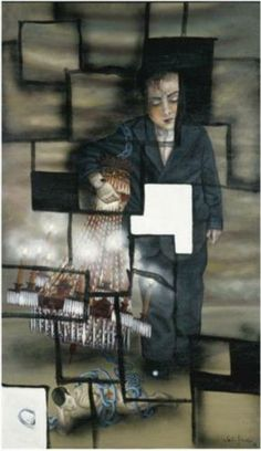 Julio Galan (Mexican: 1958 - 2006) - Boy without darkness (1996)