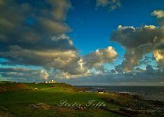 The landscape around Obrestad lighthouse. My Images, Pop Up, Lighthouse, Fine Art Prints, Clouds, Landscape, Studio, Photography, Outdoor