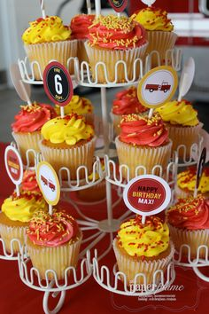Real Plume Party: A Fire Station Birthday