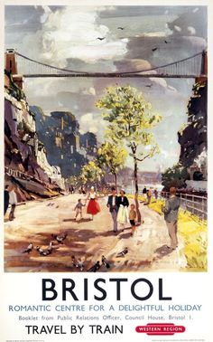 Gloucestershire Bristol Railway Posters7