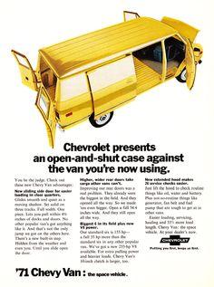 1971 Chevrolet Van