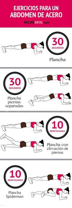 Las abdominales no son la única forma de trabajar los músculos del abdomen para lograr grandes resultados, y claro, todas las mujeres queremos lucir un abdomen de envidia. Checa esta rutina muy sencilla de recordar que te ayudará a sentirte y verte ¡de 10! Inténtalo por lo menos tres veces a la semana y notarás …