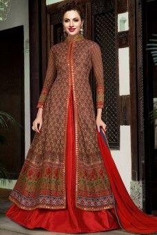 Red Latest Designer Indo Western Style Printed Salwar Suit  #red #swagatviolet #indowestern #anarkali #gown #lehengasuits #floorlengthsuits #womenfashion #fancydesignersuits #embroideredsuits #latestdesignercollection #bridalwear #indianwear #weddingwear #traditionalwear #festivewear #occasionally #womenfashion #beautifullady #style #fashion #indian #bridaloutfits #sadiseason #formal #malaysia #mauritius #saudi #kenya #france #germany #uk #usa #pakistanisuits #lehengas #suitsmaterial…