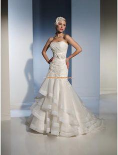 Sophia Tolli Glamouröse Traumhafte Brautkleider aus Organza