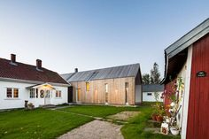 Inspired by the original 19th Century design, a rundown farmhouse on the east side of the River Glomma - Norway's longest and largest river - has been brough...