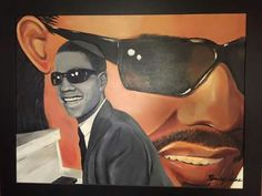 "Artwork by Saine "" Stevie Wonder"