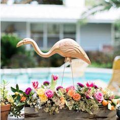 Decoração de Casamento : Flamingo