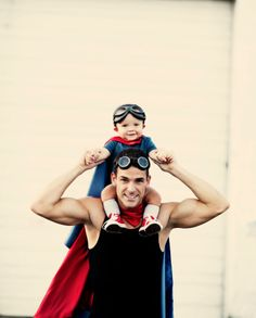Happy Father's Day to all the Heroes out there! A.k.a. dad