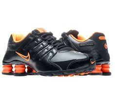 Nike Shox NZ SI Plus (GS) Boys Running Shoes 317929-019 Nike. $84.95