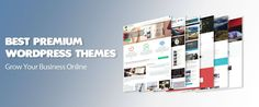 Planning to create an awesome WordPress website? You may surely find a perfect theme in this list of the best premium WordPress Themes 2016.