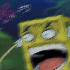 Memes Reaction Sleep Ideas For 2019 Spongebob Memes, Cartoon Memes, Cartoon Pics, Cartoons, Stupid Funny Memes, Haha Funny, Jw Meme, Bruh Meme, Chat Messenger