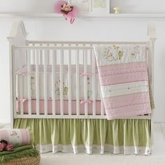 Rosenberry Rooms has everything imaginable for your child's room! Share the news and get $20 Off  your purchase! (*Minimum purchase required.) Fairyland Crib Bedding Set