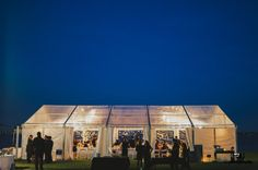 Swans Marquee at night