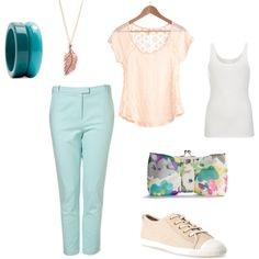 Casual Spring Outfit created on Polyvore by thebetk (me).