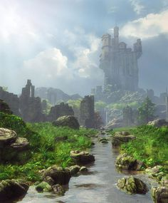 Distant Castle by Cynthia Decker