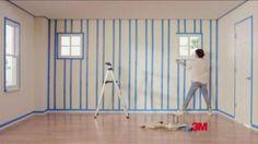 Scotch Blue Painter's Tape TV Spot, 'Prep' Painters Tape, Tv Commercials, Cool Paintings, Bedroom Wall, Scotch, Prepping, Blue, Home Decor, Plaid