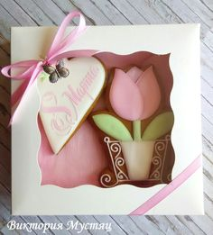 Одноклассники Mother's Day Cookies, Super Cookies, Fancy Cookies, Valentine Cookies, Easter Cookies, Royal Icing Cookies, Cupcake Cookies, Cupcakes, Biscuit Decoration