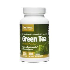Jarrow Formulas Green Tea www.theteelieblog.com Jarrow Formulas® Green Tea is water extracted and consists of 50% polyphenols, including 30% catechins, approximately 15% of which is the important EGCG fraction. The polyphenols in green tea are potent antioxidants and support cardiovascular and immune health. #thrivemarket