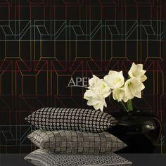 modern ethno transparenter vorhang mona und vorhang. Black Bedroom Furniture Sets. Home Design Ideas