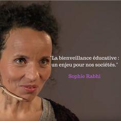 La bienveillance éducative : un enjeu pour nos sociétés.  Sophie Rabhi est fondatrice et directrice de l'école La Ferme des Enfants, un lieu oùla valeur essentielle est la bienveillance.  Elle nous raconte commentelle a construit son projet profondément humain en s'inspirant notamment de Maria Montessori...