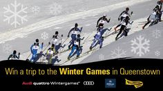 You should enter Competition: Win a Weekend at the Winter Games NZ!. There are great prizes and I think one of us could win!