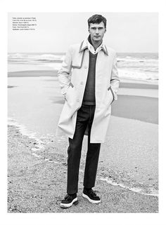 Clément Chabernaud photographed by Umit Savaci for the Spring/Summer 2015 coverstory of GQ Style Turkey.