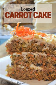 How to Make the Best Carrot Cake | Fluster Buster