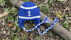 Crochet Football Hat Baby Football Hat by TheFlyButterFactory, $14.95